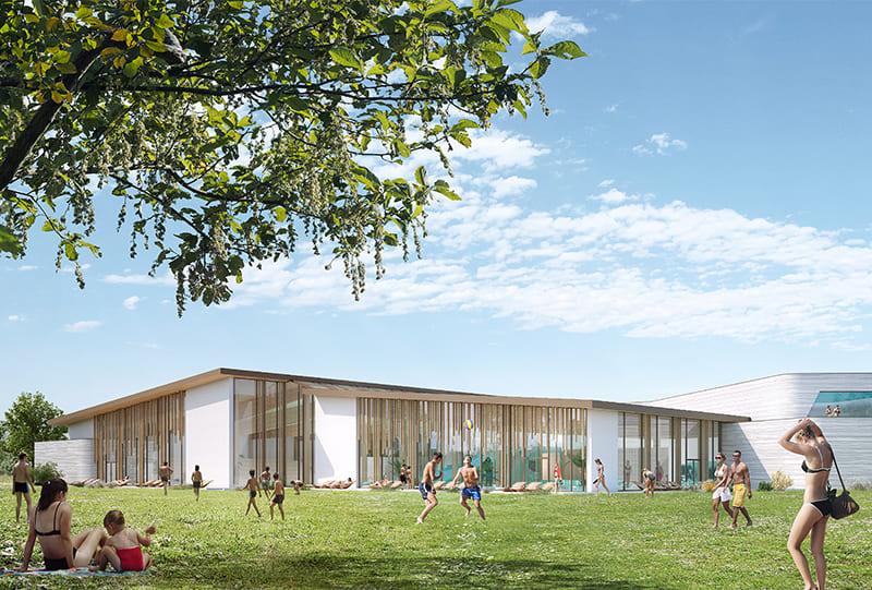 Belbeuf-réalisation piscine biologique France