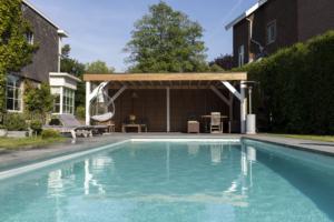 réalisation piscine naturelle chauffée