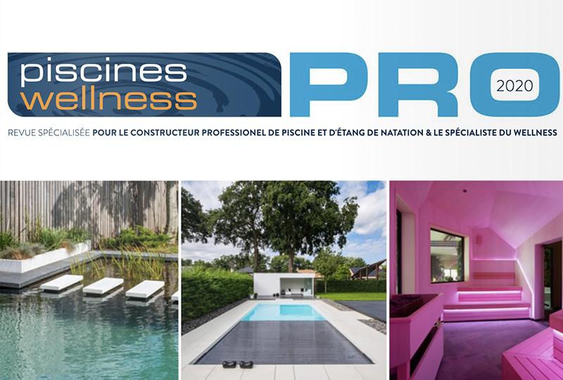 Vitii piscine naturelle dans la Revue Piscine Wellness Pro