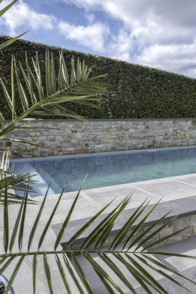 piscine naturelle privée